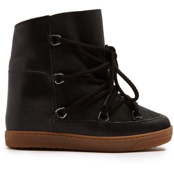 b753033a387 Isabel Marant Nowles shearling-lined après-ski boots (5 560 SEK ...