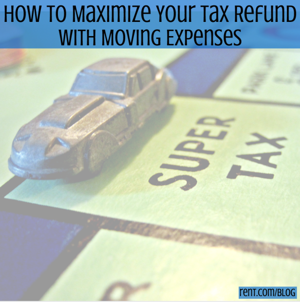 Increase Your Tax Write Offs With A Moving Expenses