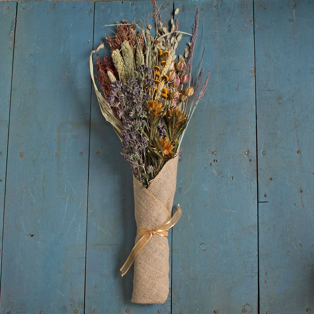 Golden Harvest Dried Floral Bouquet Dried Flower Bouquet Dried Floral White Flower Farm