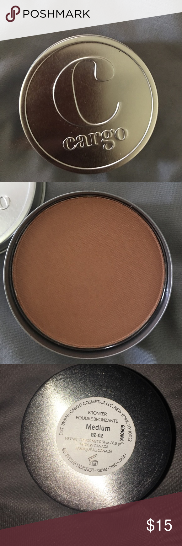 Shimmery cargo bronzer Shimmery cargo bronzer only searched im more of a matte bronzer so didn't use only swatched cargo Makeup Bronzer
