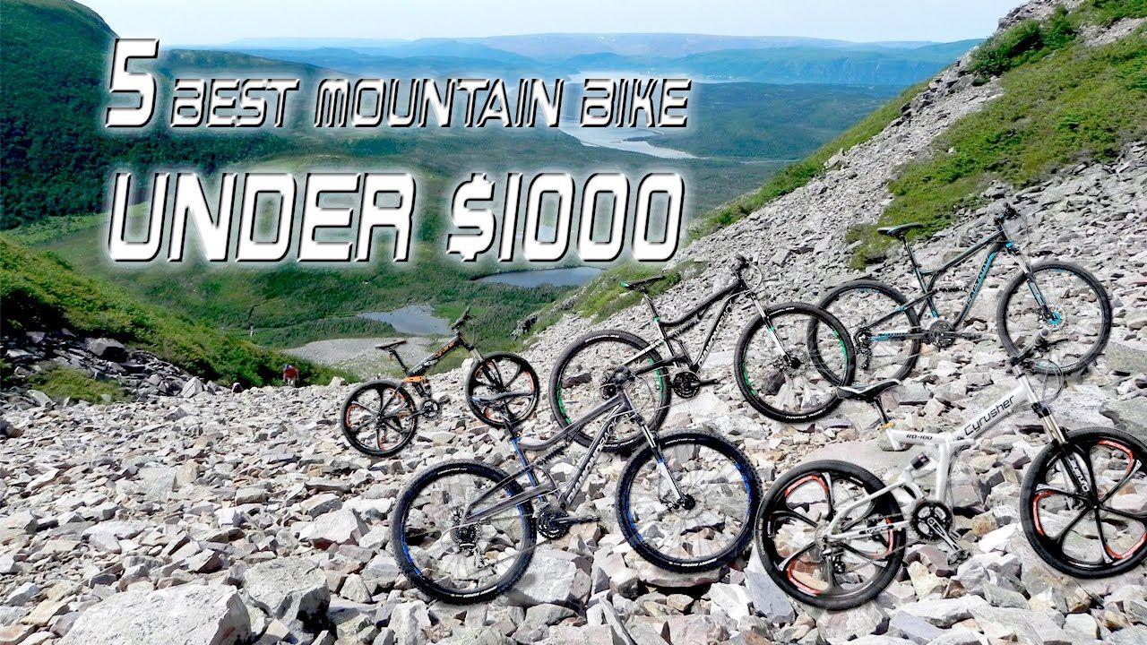 5 Best Mountain Bike Under 1000 Dollars Best Mountain Bike