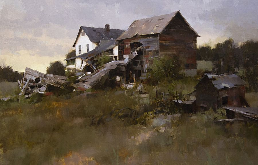 Mark Allen Boedges Landscape Paintings