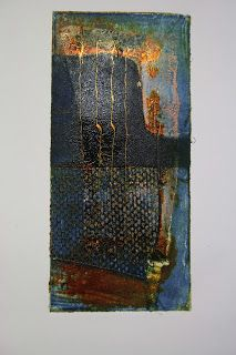 Sue Brown Printmaker: the yard:ARTspace FESTOONED