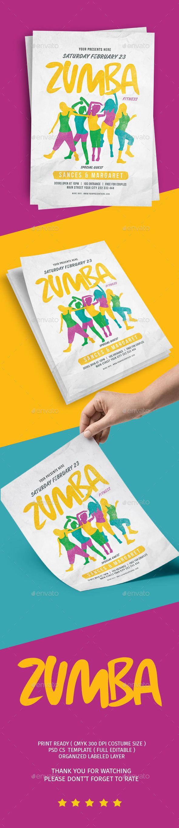 Free Printable Zumba Fundraiser Flyer Templates Altin