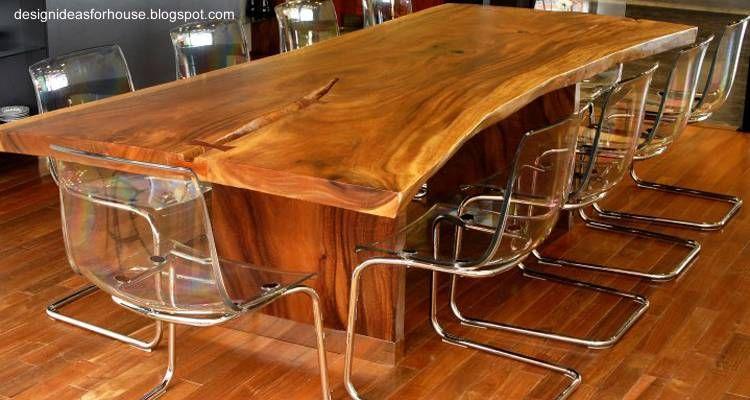 Resultado de imagen para mesas madera rustica casita - Mesas de cocina rusticas ...