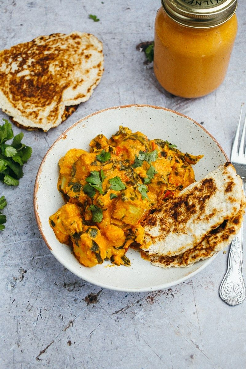 Korma Curry Sauce Vegan Low Carb