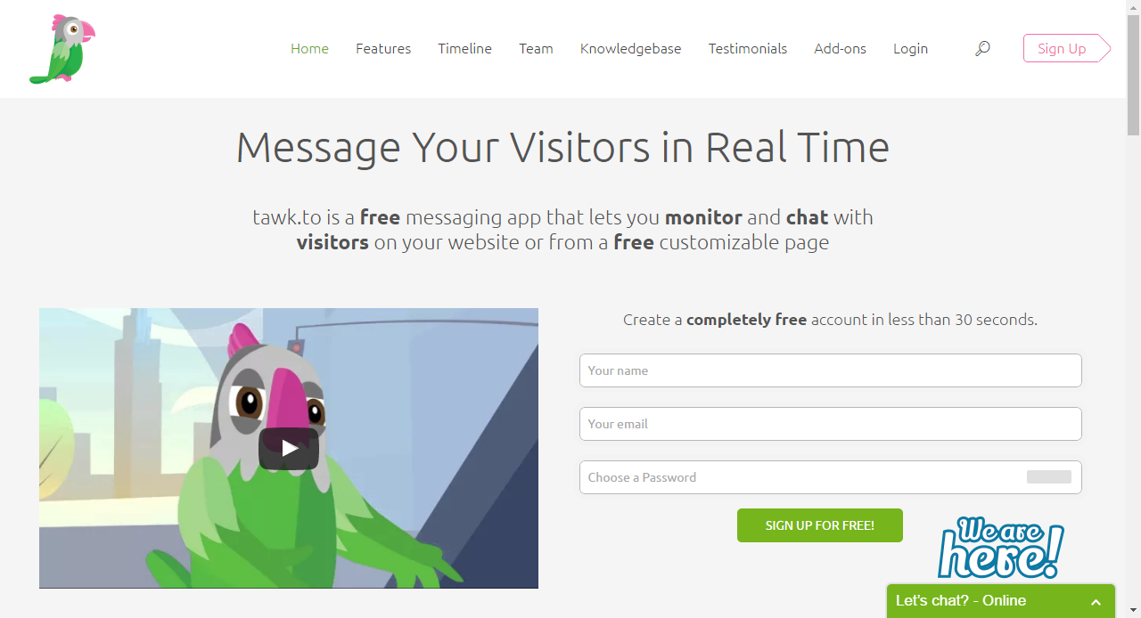 Tawk.to Free live chat, Messaging app, Chat app