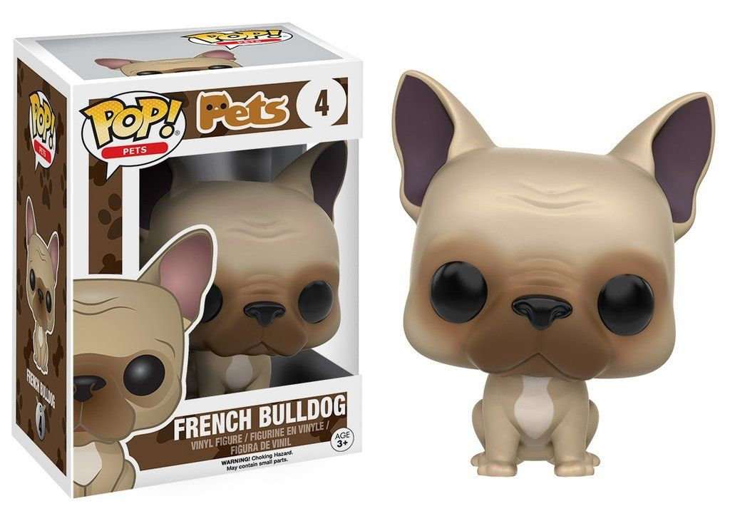 Pop Pets French Bulldog Pet Pop Pop Toys Pop Figurine