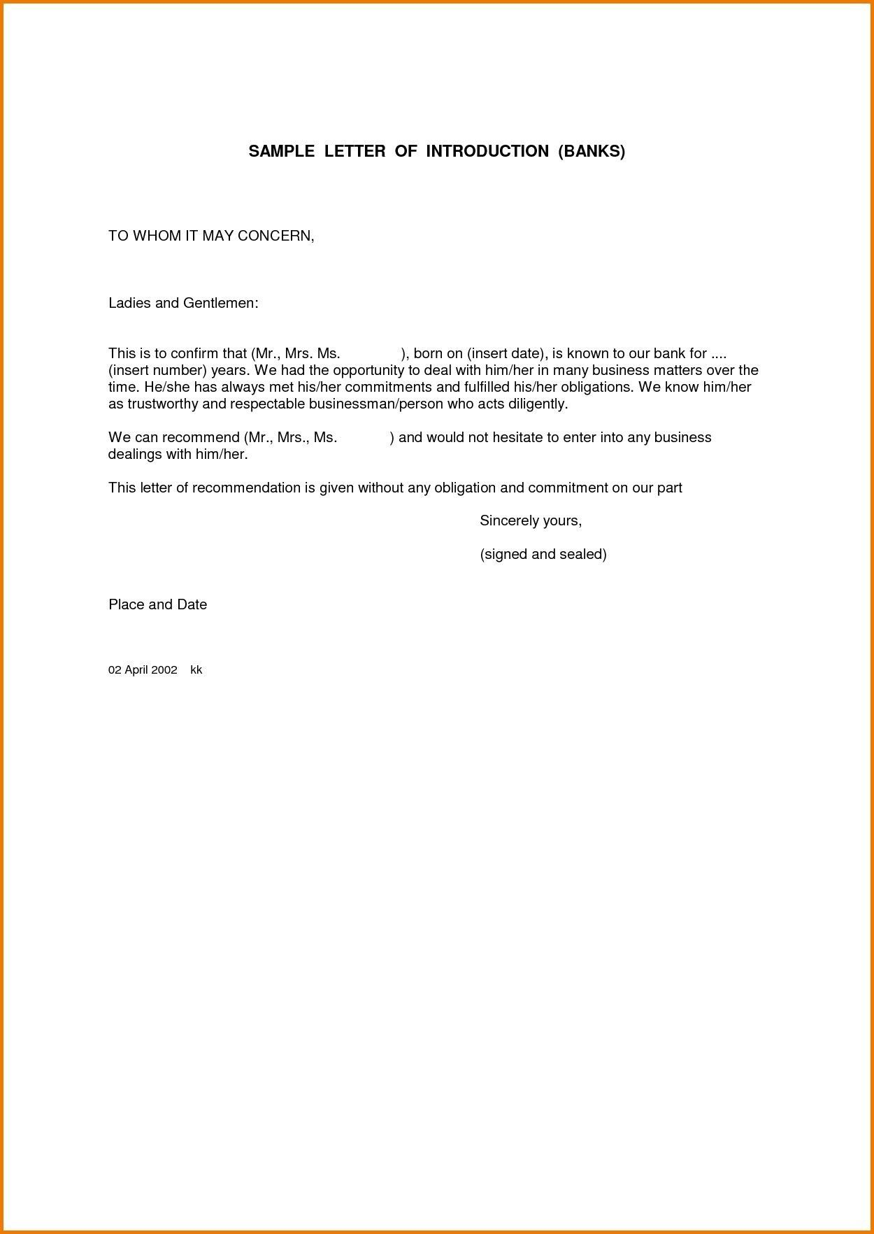 Company Referral Letter Fascinating A Letter Format To Whomsoever It May Concern Copy Business Letter To .