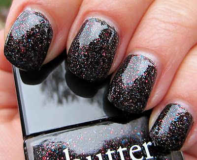 "butter london - ""the black knight,"" holiday 2011 collection"