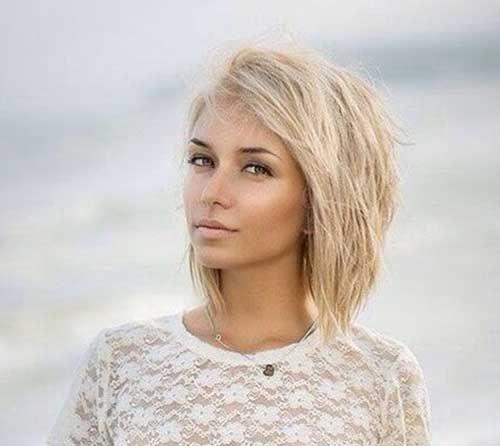 Półdługie Blond Fryzury Półdługie W 2019 Fryzury