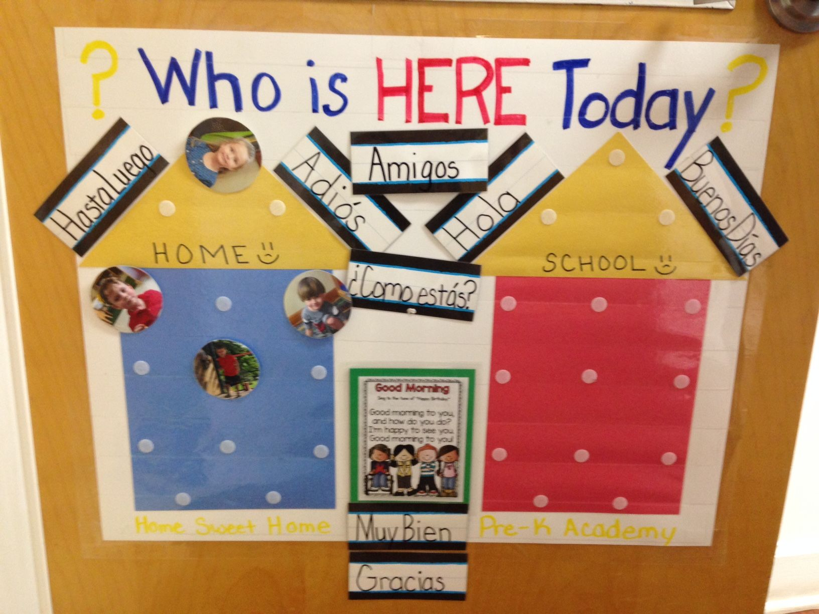 A wonderful idea for a check in board great use of the