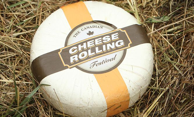 Canadian Cheese Rolling Festival, since 2008. Held mid-August in Whistler, B.C. www.canadiancheeserolling.ca/