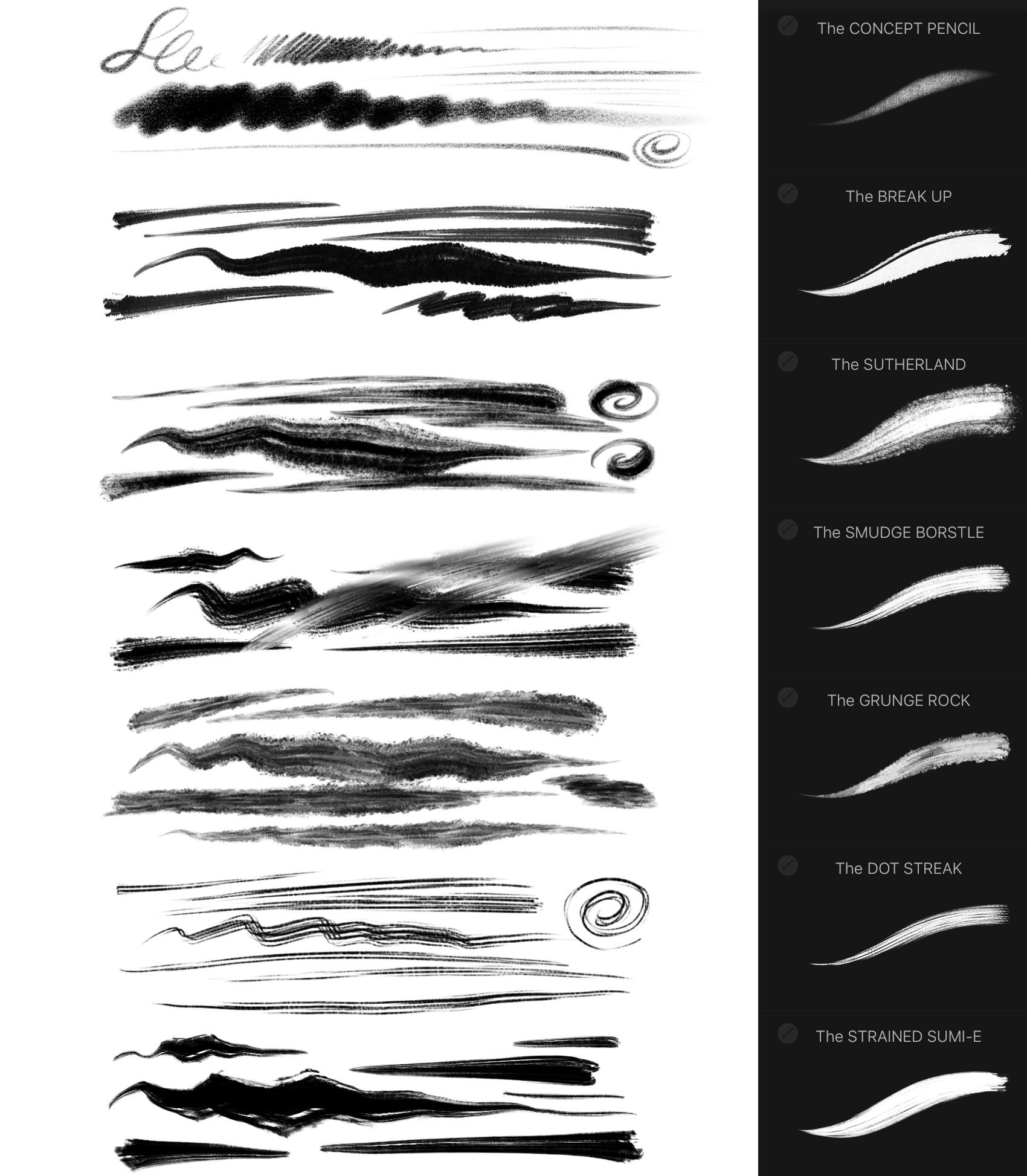 Procreate 5 Megapack 550 Premium Brushes Incl Free Updates