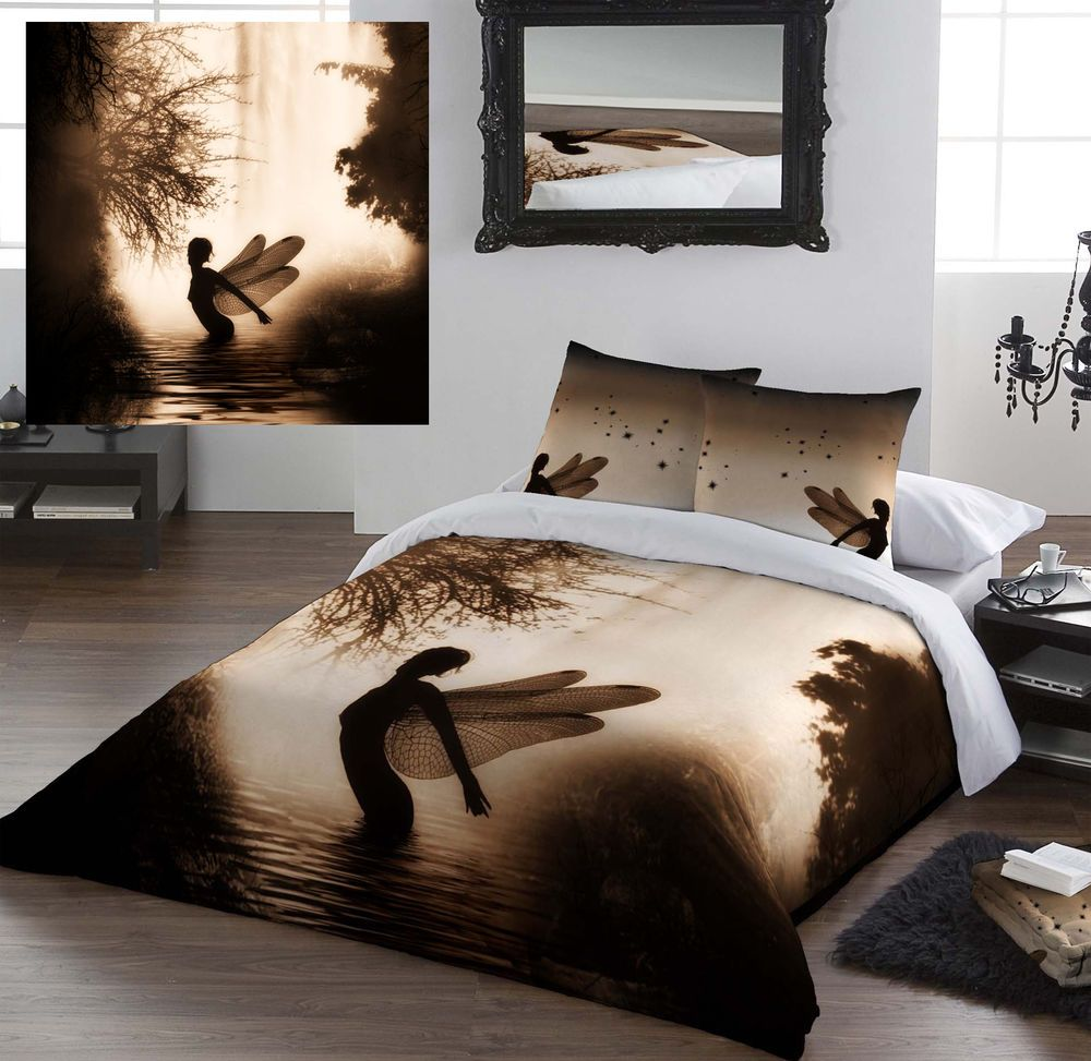 New Age Home Decor: Details About Kingsize Bed Duvet Cover 'Believe' By Julie