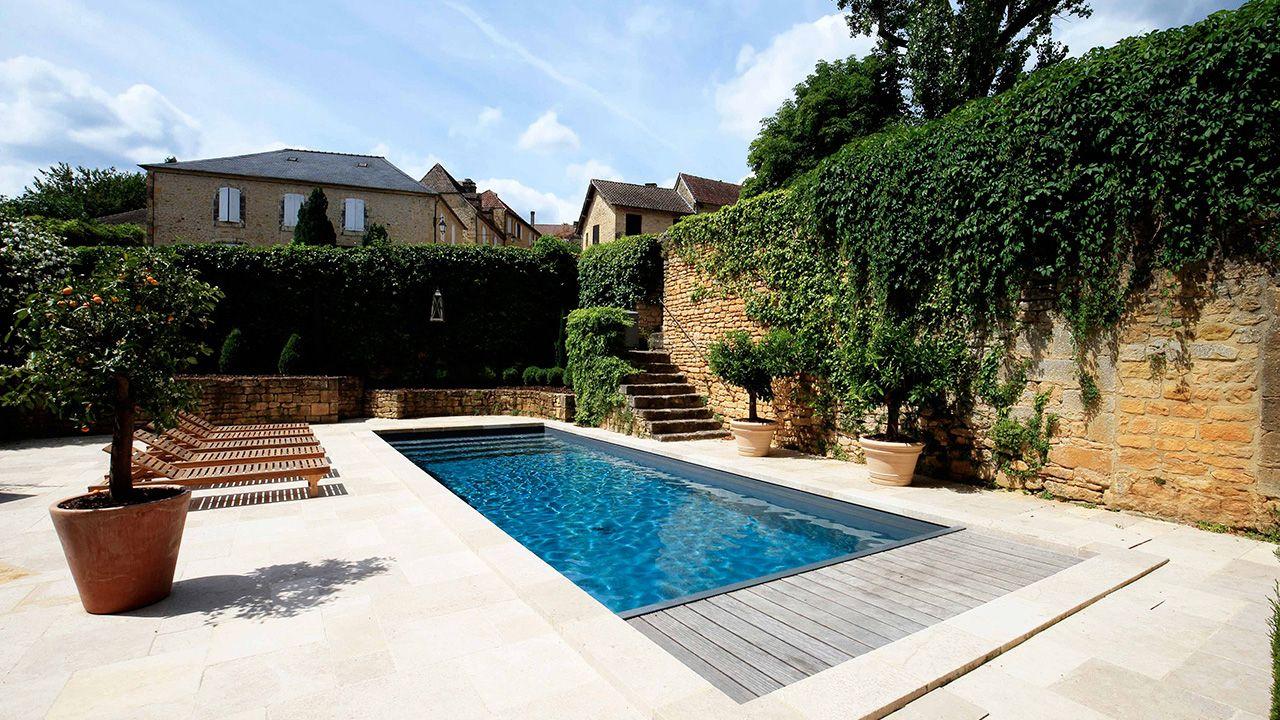 la citadine par l 39 esprit piscine 10 x 3 5 m fond plat de 1 50m escalier droit sur la largeur. Black Bedroom Furniture Sets. Home Design Ideas