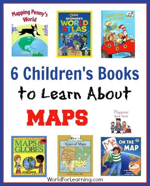 6 childrens books to learn about maps learning books and nature 6 childrens books to learn about maps world for learning gumiabroncs Images