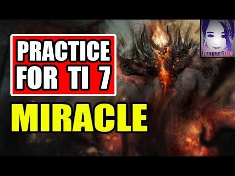 Practice for TI 7 - Miracle Shadow Fiend [Dota 2] Patch 7 06d | DOTA