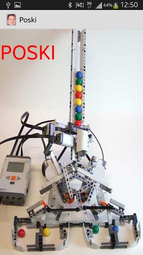 Poski on android sovellus Lego NXT robotille, jonka Ryhmä 7 on rakentanut ja koodannut  http://Mobogenie.com