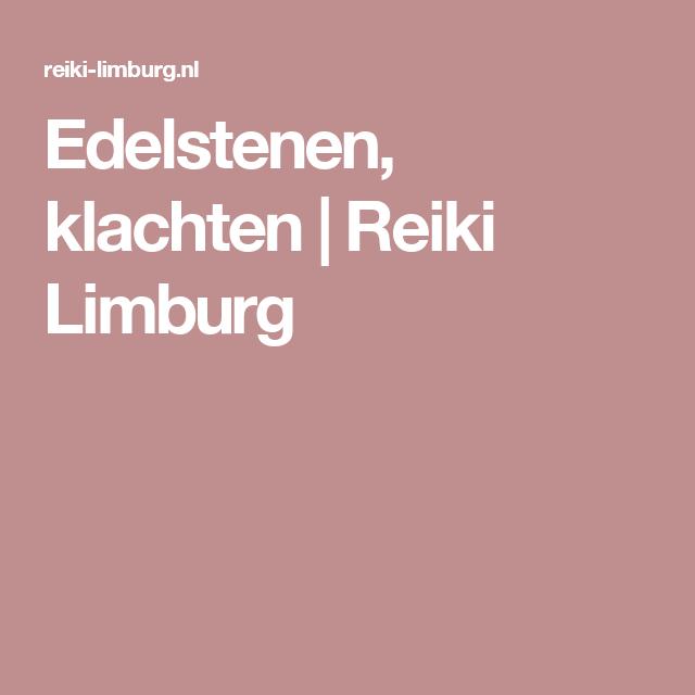 Edelstenen, klachten | Reiki Limburg