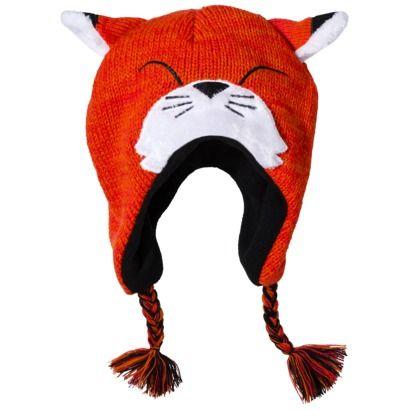 LICENSE Orange multi BG Fox Hat  - OSFM