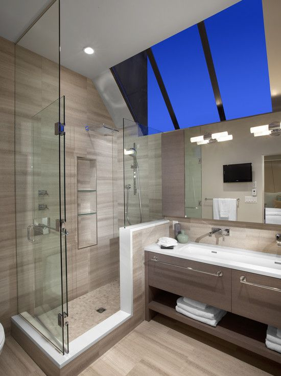 18 Stylish Bathroom Cabinet Design Ideas Large shower Cabinet