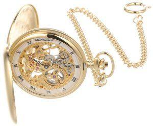 Impulse PG200G Tasche Mechanical Gold Pocket Watch Steinhausen. $524.99. Mechanical movement. Stainless steel case. Three hands movement. 0 Meters(0 feet). 1 year full warranty