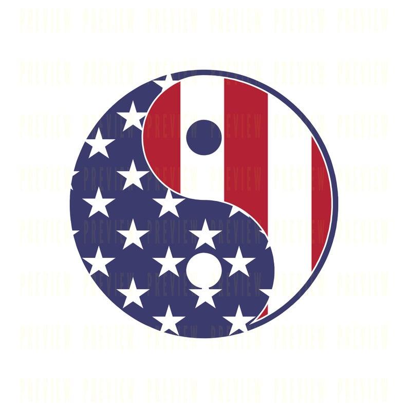 American Flag Yin Yang Png File 4500 X 5400 Px 300 Dpi Etsy In 2021 American Flag Yin Yang Clip Art