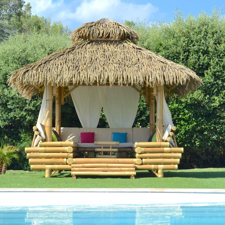 Gazebo Bambou Ou Paillote Bambou Salon De Jardin Pergola En Bambou De Grande Qualite Gazebo Paillote Bambou Salon De Jardin