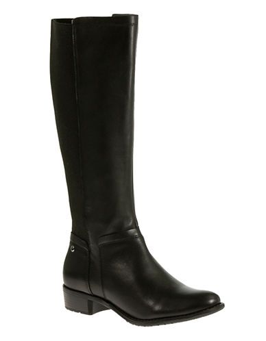 Lindy Wide Calf Chamber Boot | $230