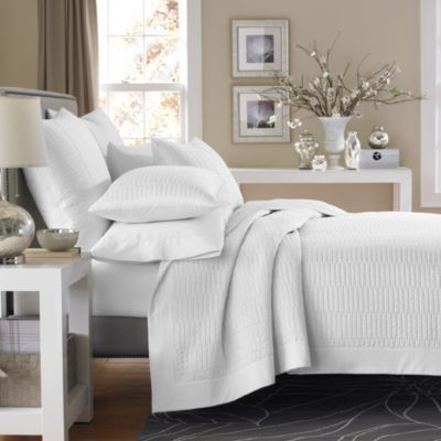 Bedroom Ideas Real Simple real simple® dune coverlet in white - bedbathandbeyond sage