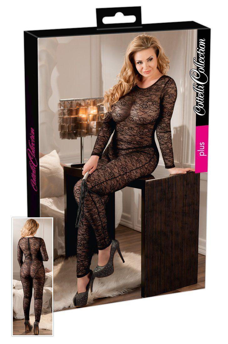 b42e5be5e8fdf Cottelli Collection Plus Overall Lace XL: Amazon.co.uk: Health & Personal  Care