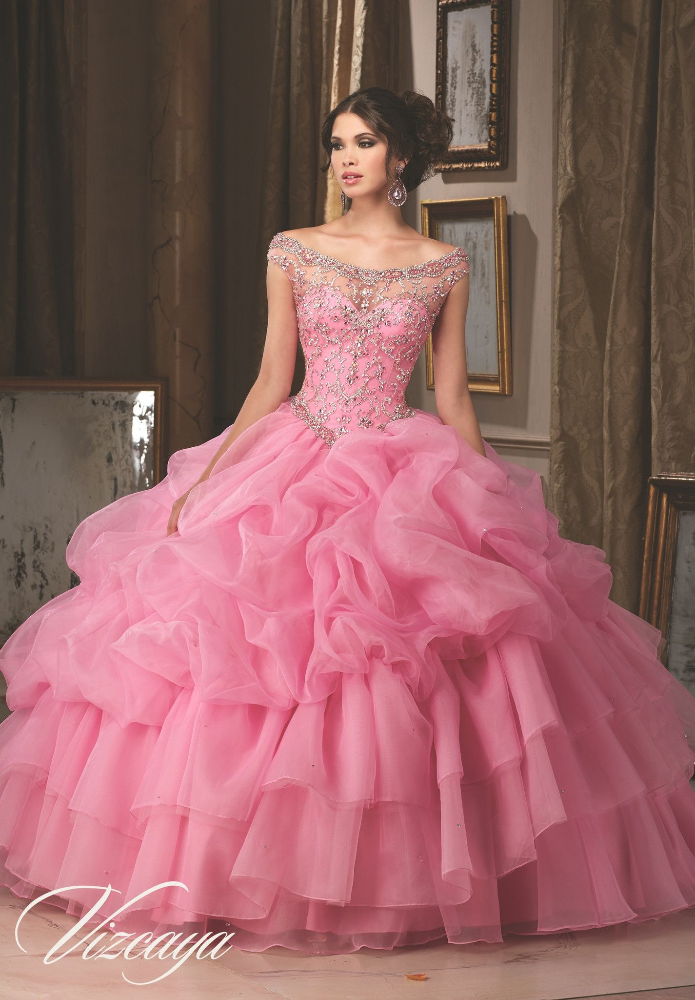 Mori Lee Quinceanera Dress 89110 | Pinterest | vestidos XV, 15 años ...