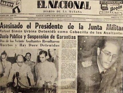 G A N T I L L A N O: EL MAGNICIDIO EN VENEZUELA