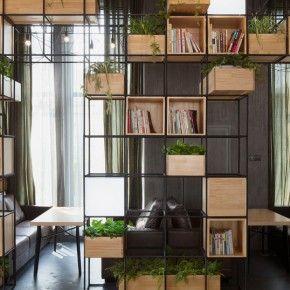 Scaffali E Librerie Design Legno.Libreria Ferro E Legno Google Search Wall Units Arredamento