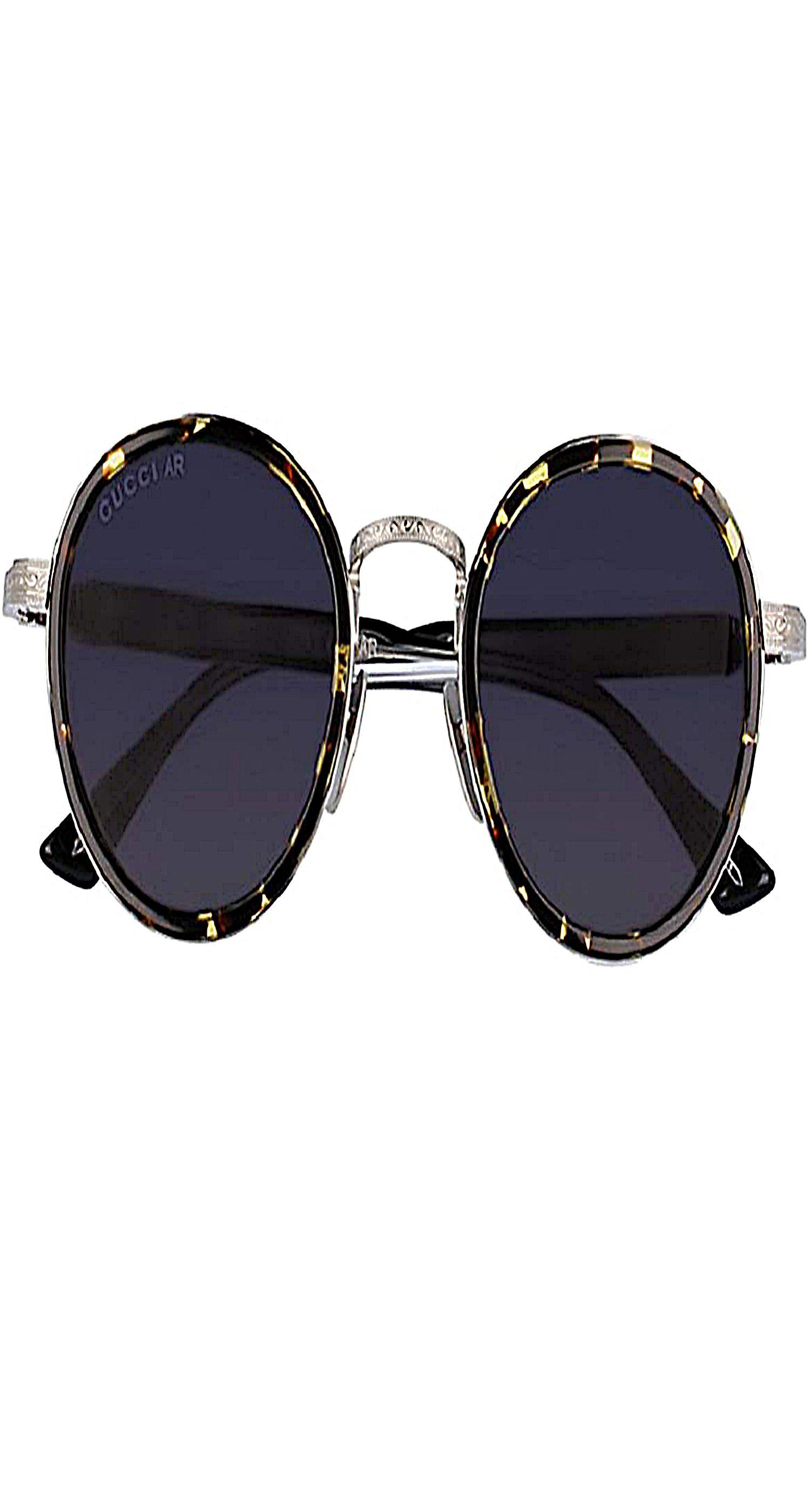 6551eaa34e8 Gucci Fashion GG0067S Sunglasses 002 Gold-Black   Grey Lens 48 mm mens  sunglasses