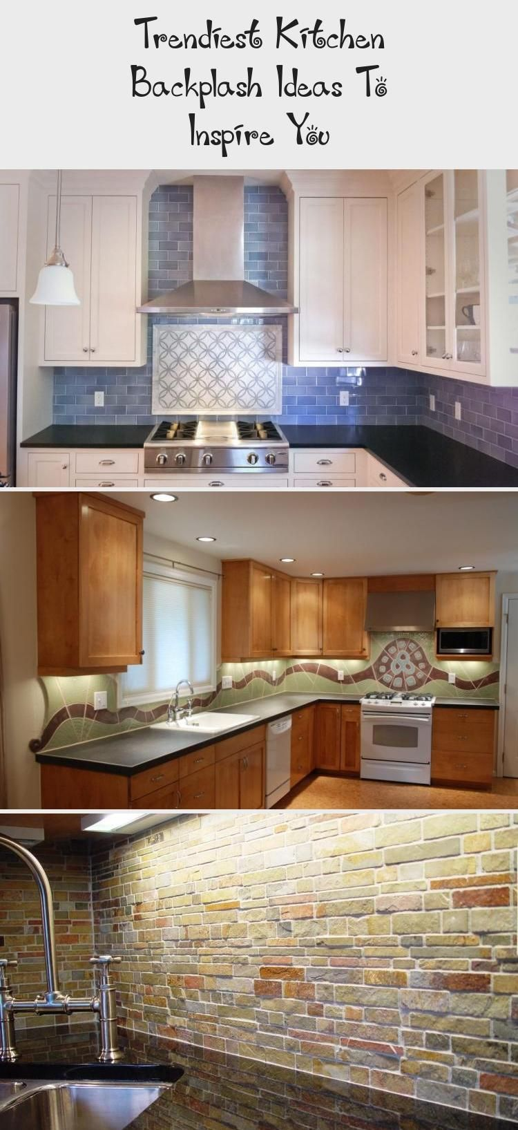 Looking For Unique Kitchen Backsplash Ideas Find Beautiful Inspiration Including Herringbone And M In 2020 Kitchen Backplash Unique Kitchen Backsplash Trendy Kitchen