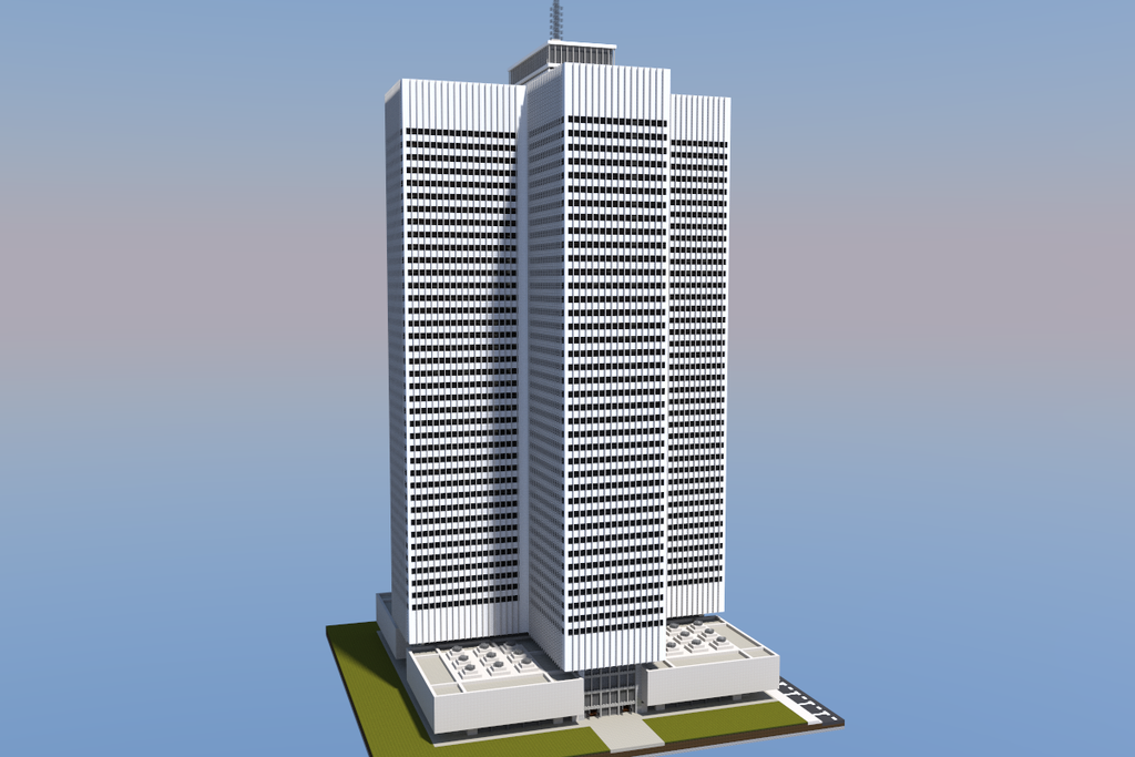 Minecraft skyscrapers easy images - Minecraft hochhaus ...