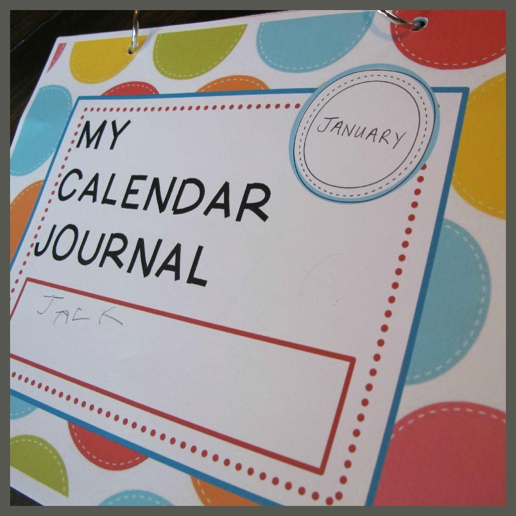 Kindergarten Calendar Journal : An early childhood journal great idea if your a