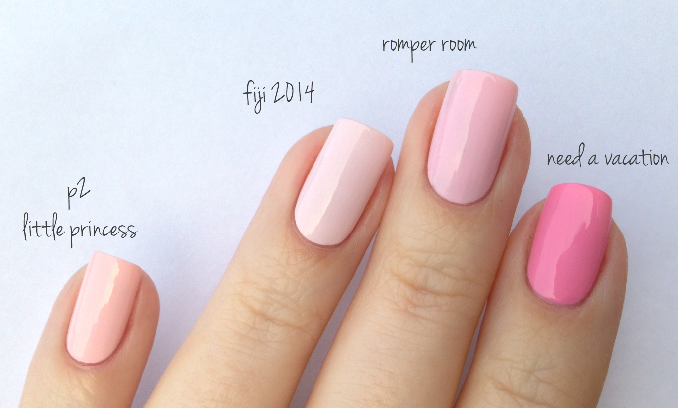 Alles Gleich Hair And Makeup Essie Pink Nail Polish