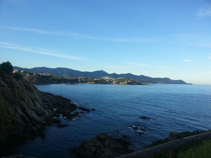 #Llançà desde la Ronda litoral a Port de la Selva #Catalonia #Catalunya