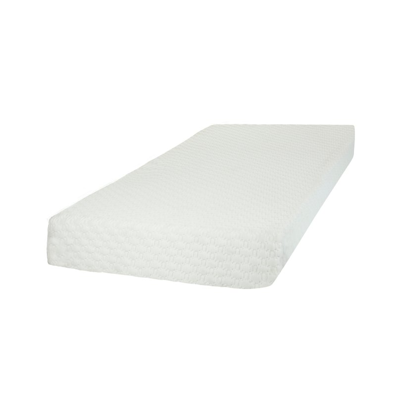 White Basic 8 Inch Memory Foam Twin