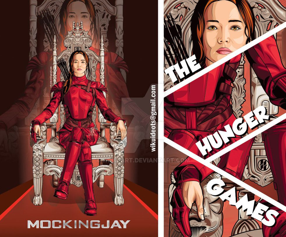 The hunger games mockingjay by wiku art art inspiration vector the hunger games mockingjay by wiku art voltagebd Image collections