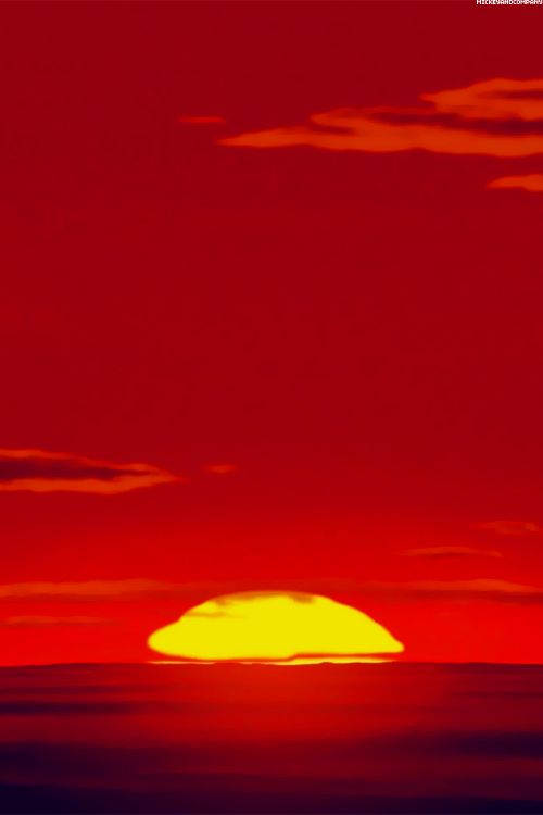 The Lion King Disney Wallpaper Sunset Landscape Disney
