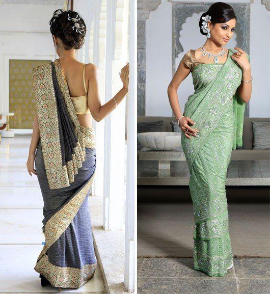 Learn How to Wear a Saree Like a Bollywood Celebrity!
