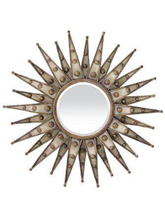 Sterling Industries 55 0062m Centauri Starburst In Humphrey Finish Elk Group International With Images Starburst Mirror Wall Mirror Design Wall Starburst Mirror