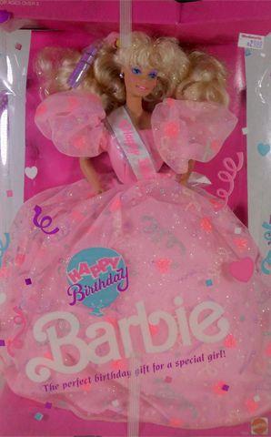 1990 Happy birthday Barbie | Dolls | Barbie 1990, Barbie ...
