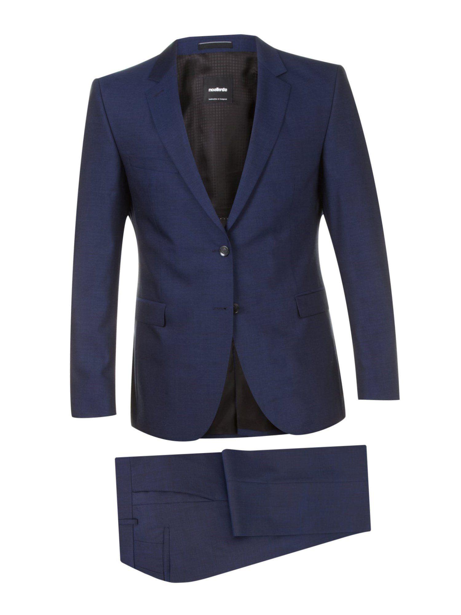Anzug strellson blau.