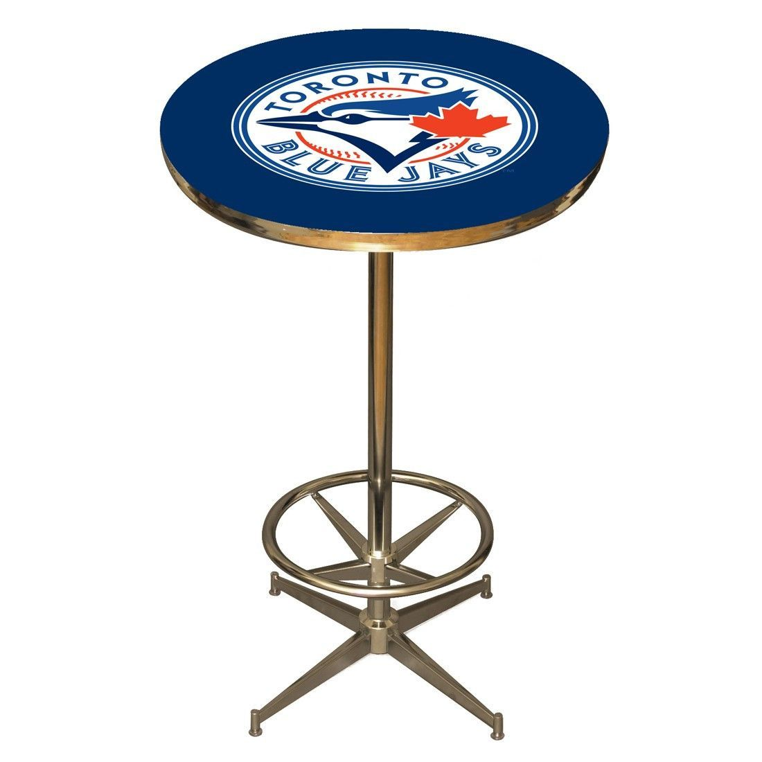 The Toronto Blue Jays Man Cave Pub Table By Imperial USA