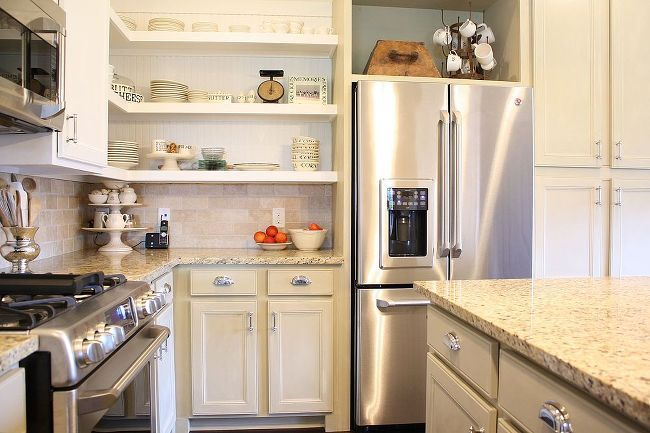 Chalk Painted Kitchen Cabinets :: Hometalk